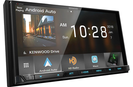 Kenwood DMX905S Digital Media Receiver with Bluetooth - Safe and Sound HQ