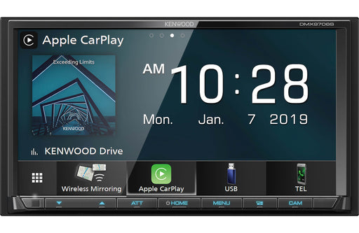 "Kenwood DMX9706S 6.95"" Digital Multimedia Receiver - Safe and Sound HQ"