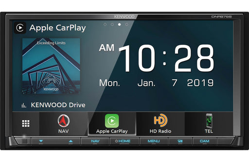 Kenwood DNR876S Navigation Digital Multimedia Receiver with Bluetooth and HD Radio - Safe and Sound HQ