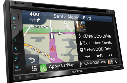 "Kenwood DNX695S 6.8"" AV Navigation System with Bluetooth & HD Radio - Safe and Sound HQ"
