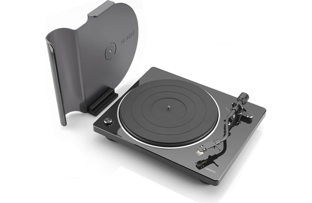 Denon DP-400 Turntable with Ortofon 2M Bronze Phono Cartridge Bundle - Safe and Sound HQ