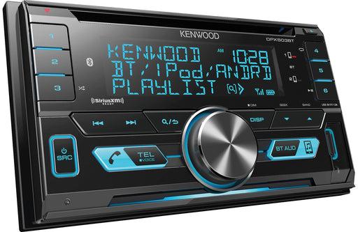 Kenwood DPX503BT Double-Din CD Receiver with Bluetooth - Safe and Sound HQ