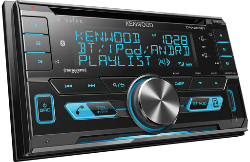 Kenwood Excelon DPX593BT 2-Din CD Receiver with Bluetooth - Safe and Sound HQ