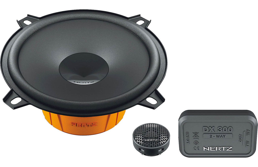 "Hertz DSK 130.3 Dieci Series 2-Way 5.25"" Component Speaker (Pair) - Safe and Sound HQ"