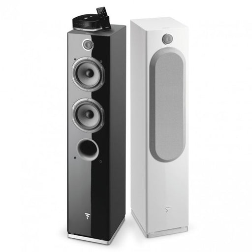 Focal EASYA Powered Wireless 2 1/2 way Bass Reflex Floor-Standing Speaker (Pair) - Safe and Sound HQ
