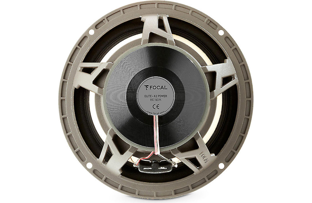 "Focal EC 165 K K2 Power 6.5"" 2 Way Coaxial Speaker (Pair) - Safe and Sound HQ"