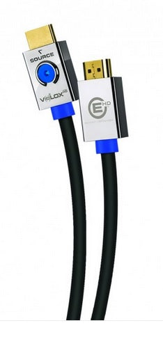 Metra EHV-HDP1 Velox Ultra High Speed Passive Premium HDMI Cable 1 Meter - Safe and Sound HQ