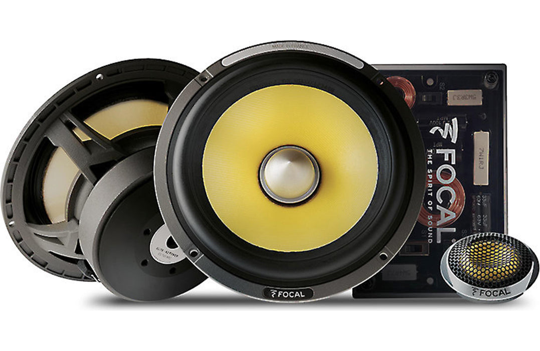 "Focal ES 165 KX2 K2 Power 6.5"" 2 Way Component Speaker (Pair) - Safe and Sound HQ"