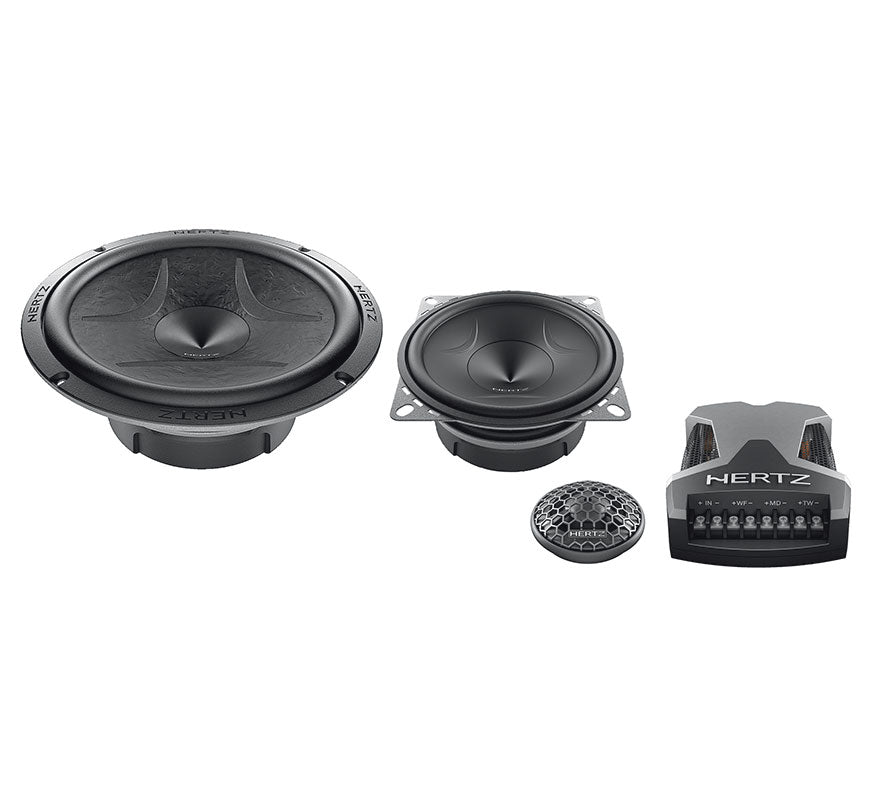 "Hertz ESK 163L.5 Energy Series 3-Way 6 1/2"" Component Speaker (Pair) - Safe and Sound HQ"