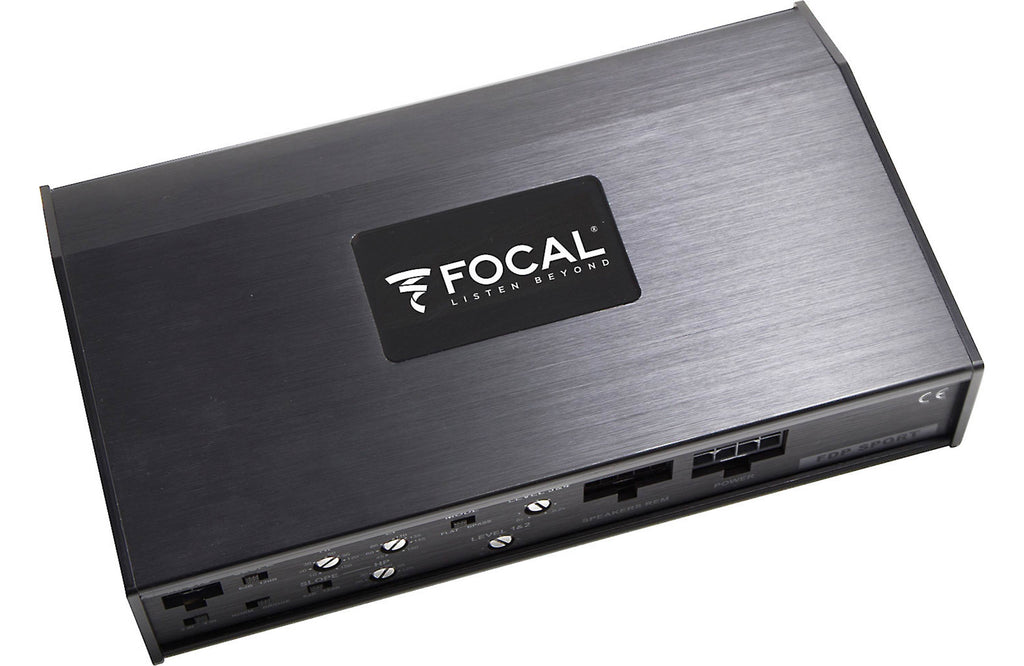 Focal FDP Sport Performance Motorcycle and All-Terrain  Four Channel Amplifier - Safe and Sound HQ