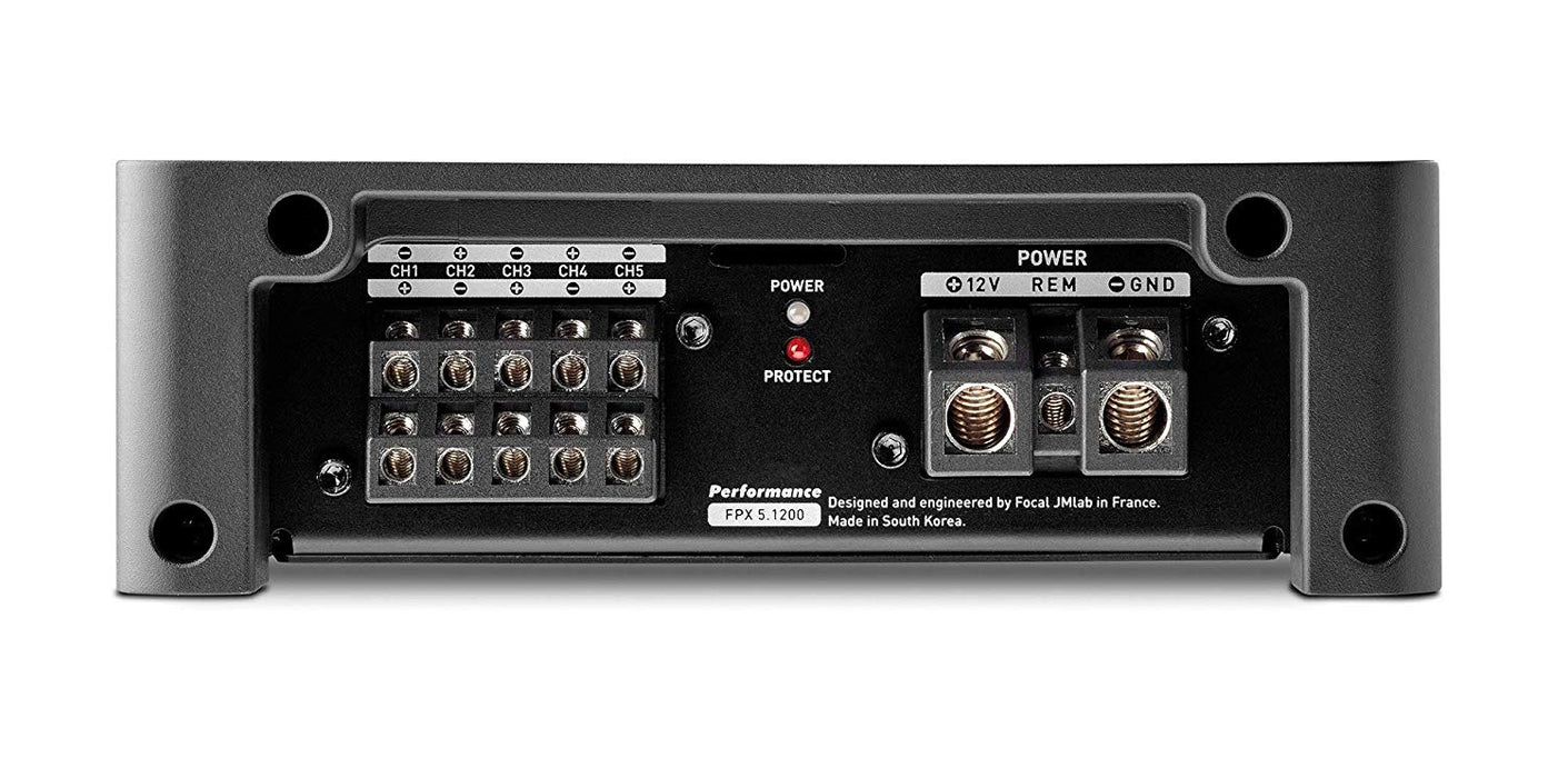 Focal FPX 5.1200 Performance Five Channel Class D Amplifier - Safe and Sound HQ