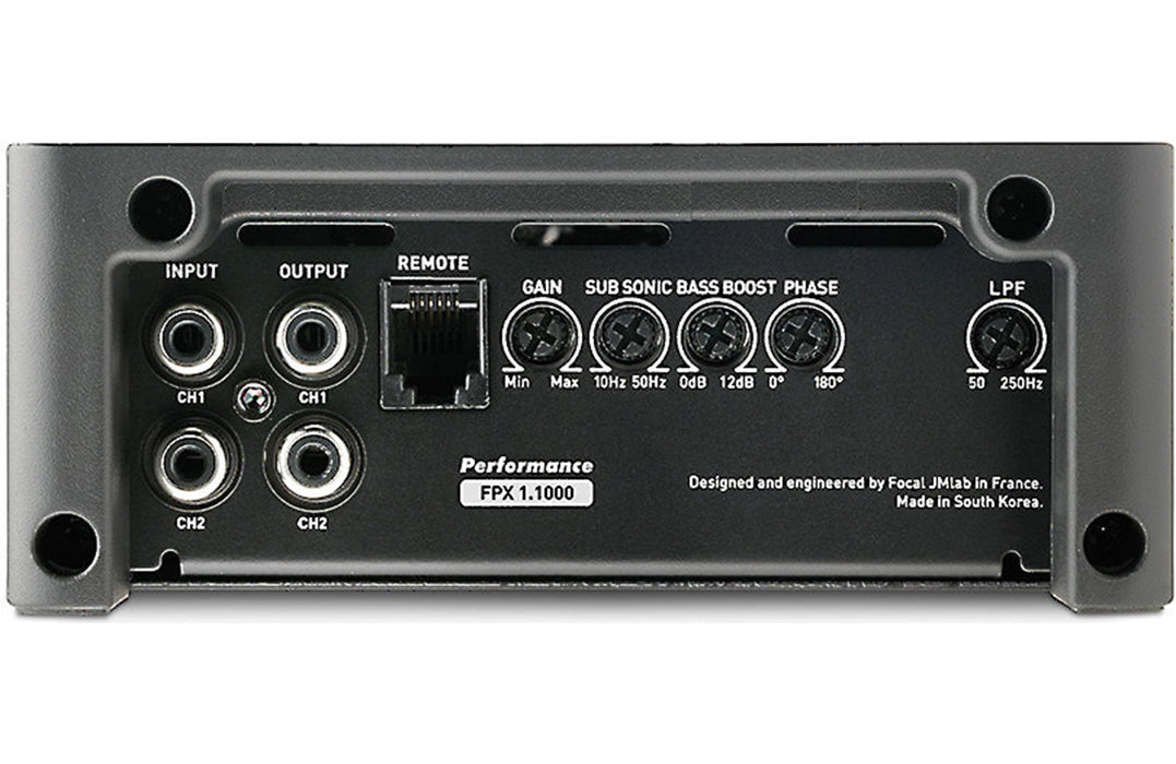 Focal FPX 1.1000 Performance Mono Class D Amplifier - Safe and Sound HQ