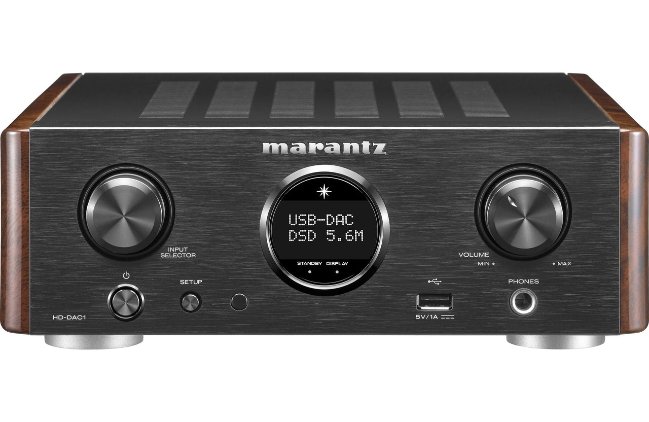 Marantz HD-DAC1 Headphone Amplifier with DAC Mode - Safe and Sound HQ