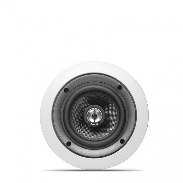 "Focal IC105 Custom Integration 5"" In-Ceiling Fiberglass Cone Speaker (Each) - Safe and Sound HQ"