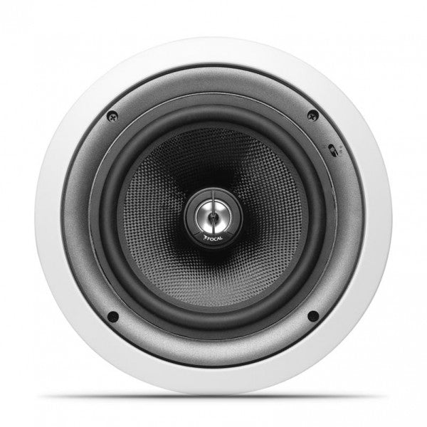 "Focal IC108 Custom Integration 8"" In-Ceiling Fiberglass Cone Speaker (Each) - Safe and Sound HQ"