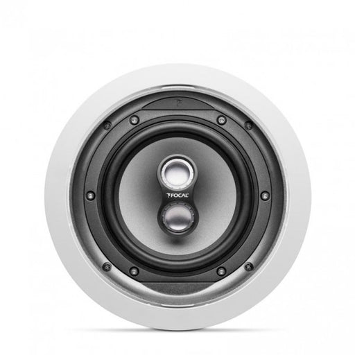 "Focal IC706VST Chorus Series In-Ceiling 6 1/2"" Polyglass Cone DVC Stereo Loudspeaker (Each) - Safe and Sound HQ"