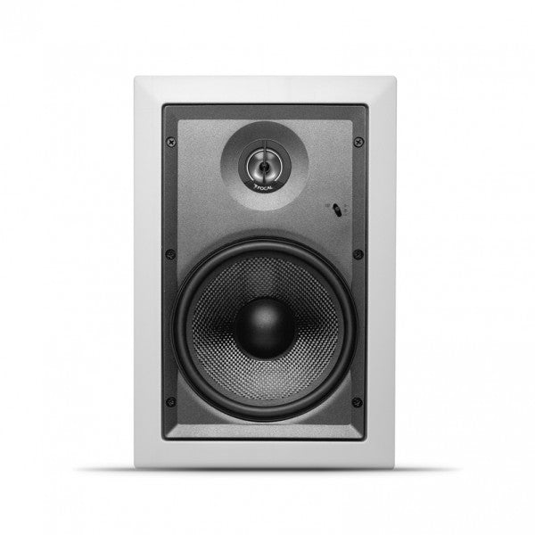 "Focal IW106 Custom Integration 6.5"" In-Wall Fiberglass Cone Speaker (Each) - Safe and Sound HQ"