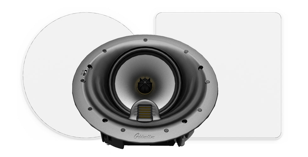 GoldenEar Invisa HTR 7000 In Ceiling Home Theater Reference Loudspeaker (Each) - Safe and Sound HQ