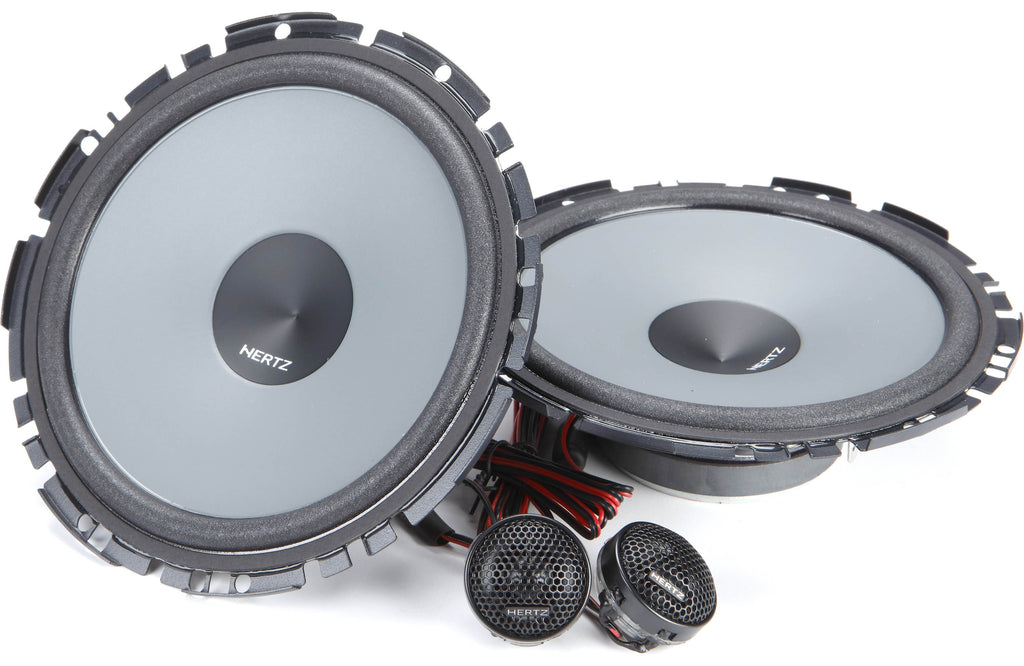 "Hertz K 170 Uno Series 6.7"" Component Speaker (Pair) - Safe and Sound HQ"