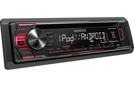 Kenwood KDC-168U CD Receiver with Front USB and AUX inputs - Safe and Sound HQ