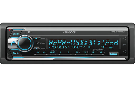 Kenwood KDC-BT572U CD Receiver with Bluetooth - Safe and Sound HQ