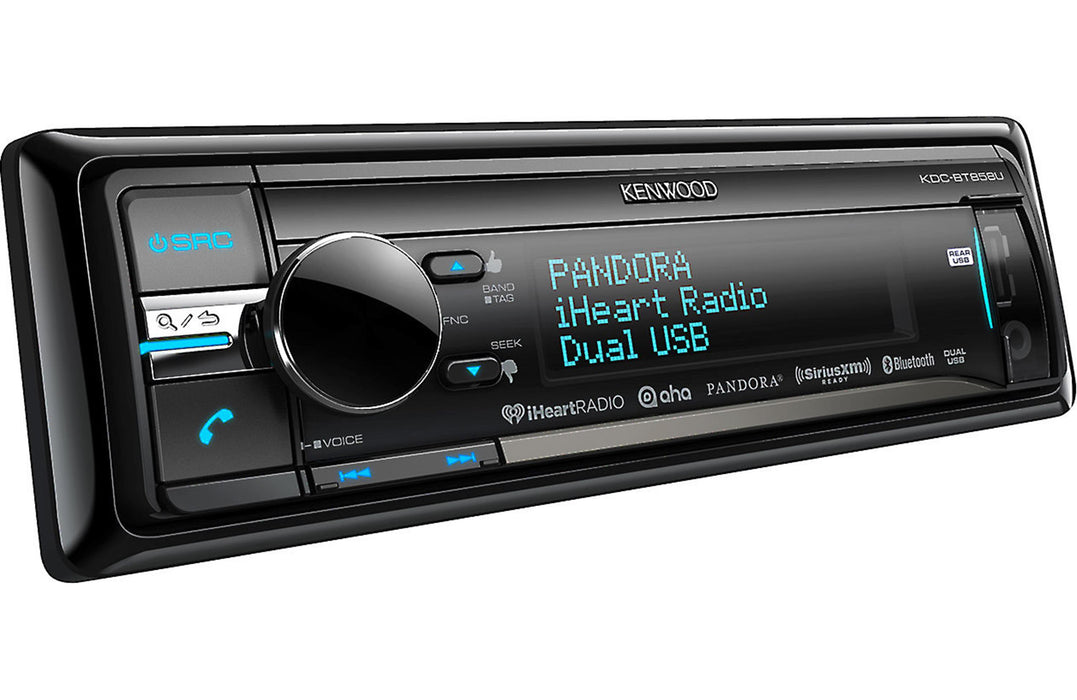 Kenwood KDC-BT858U CD Receiver with Built-in Bluetooth - Safe and Sound HQ