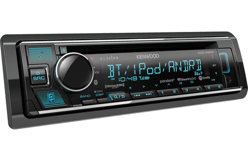 Kenwood Excelon KDC-X303 CD Receiver with Bluetooth - Safe and Sound HQ