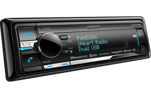 Kenwood Excelon KDC-X898 CD Receiver with Built-In Bluetooth - Safe and Sound HQ