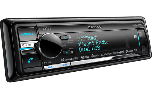 Kenwood Excelon KDC-X998 CD Receiver with Built-In Bluetooth and HD Radio - Safe and Sound HQ