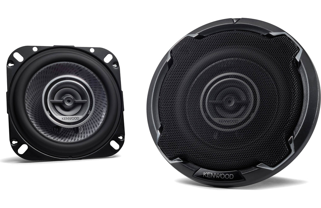 "Kenwood KFC-1096PS 4"" Round 2-Way Coaxial Speaker (Pair) - Safe and Sound HQ"