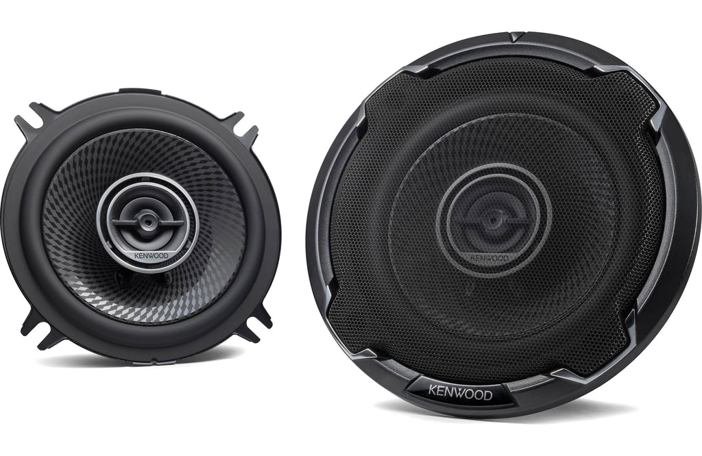 "Kenwood KFC-1396PS 5 1/4"" Round 2-Way Coaxial Speaker (Pair) - Safe and Sound HQ"