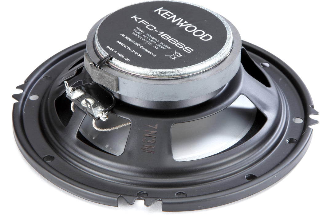 "Kenwood KFC-1666S 6.5"" Coaxial Speaker (Pair) - Safe and Sound HQ"
