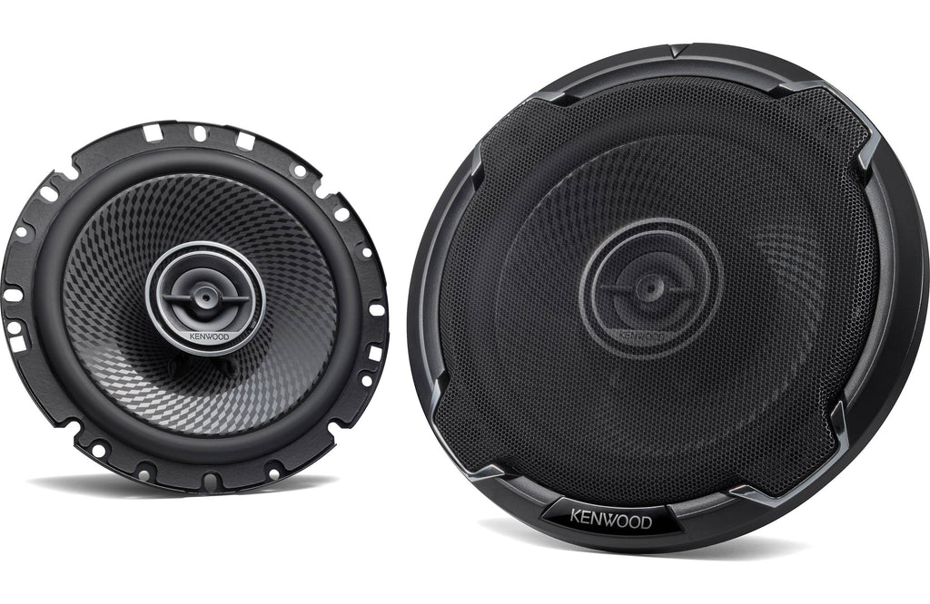 "Kenwood KFC-1796PS 6 3/4"" Round 2-Way Coaxial Speaker (Pair) - Safe and Sound HQ"