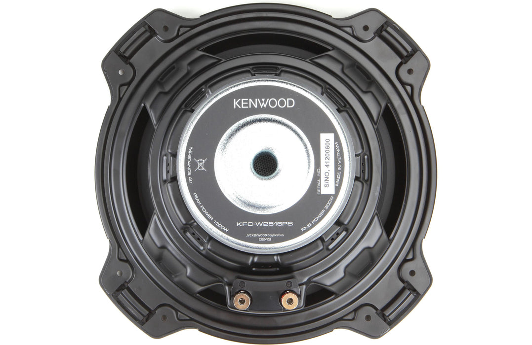 "Kenwood KFC-W2516PS Performance Series 10"" Subwoofer (Each) - Safe and Sound HQ"