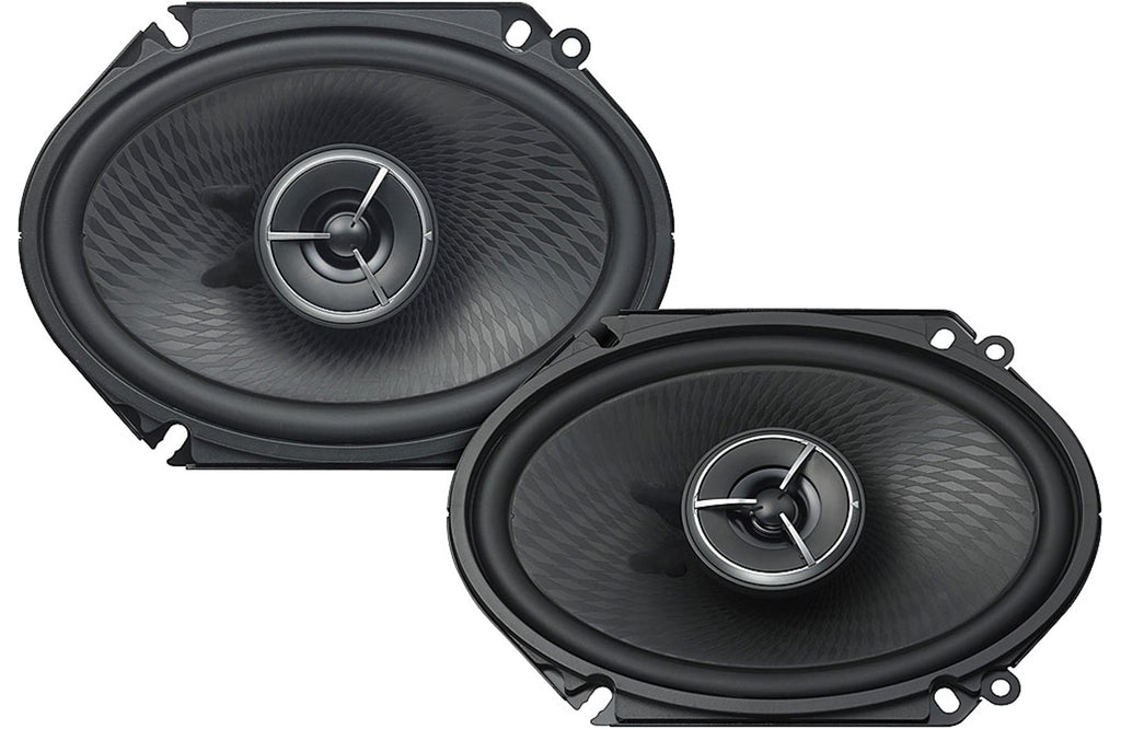 "Kenwood Excelon KFC-X683C 6"" x 8"" 2-Way Custom Fit Coaxial Speaker (Pair) - Safe and Sound HQ"