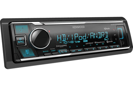 Kenwood KMM-BT525HD Digital Media Receiver with Bluetooth and HD Radio - Safe and Sound HQ