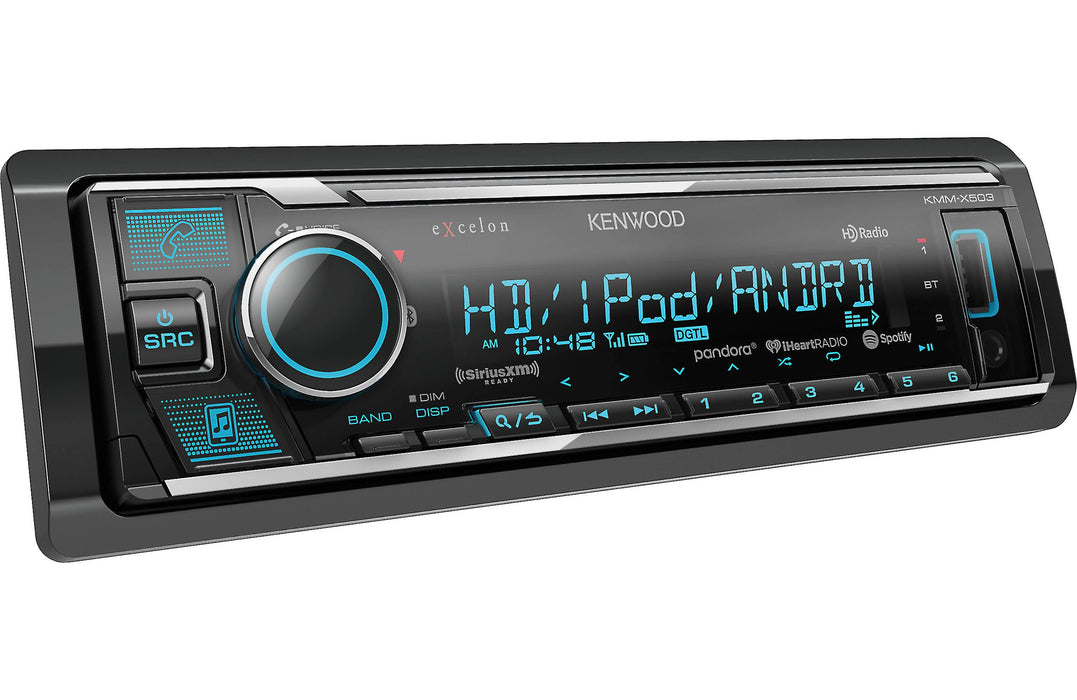 Kenwood Excelon KMM-X503 Digital Media Receiver with Bluetooth and HD Radio