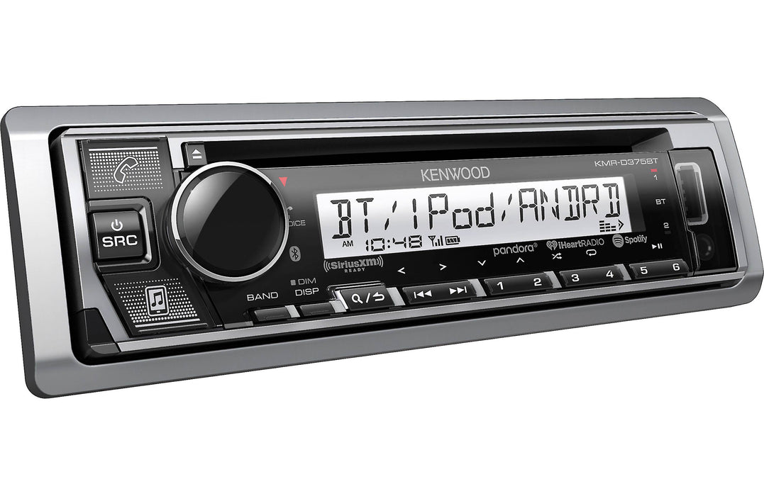 Kenwood KMR-D375BT Marine CD receiver with Bluetooth - Safe and Sound HQ