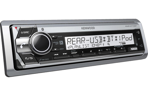 Kenwood KMR-D772BT Marine CD receiver with Bluetooth - Safe and Sound HQ