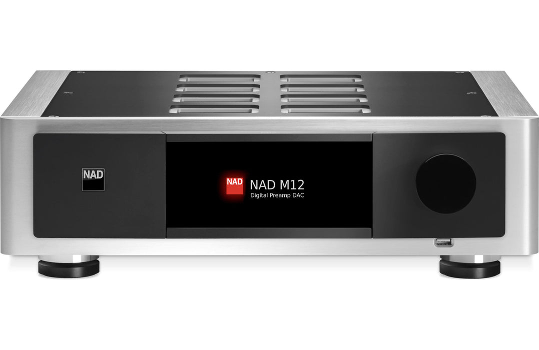 NAD Electronics M12 Masters Digital Preamp DAC Factory Refurbished - Safe and Sound HQ