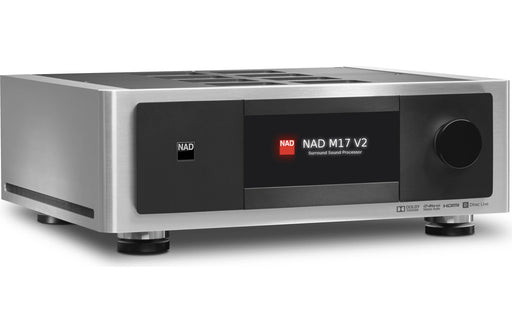 NAD Electronics M17 V2 Masters Surround Sound Preamp Processor Factory Refurbished - Safe and Sound HQ