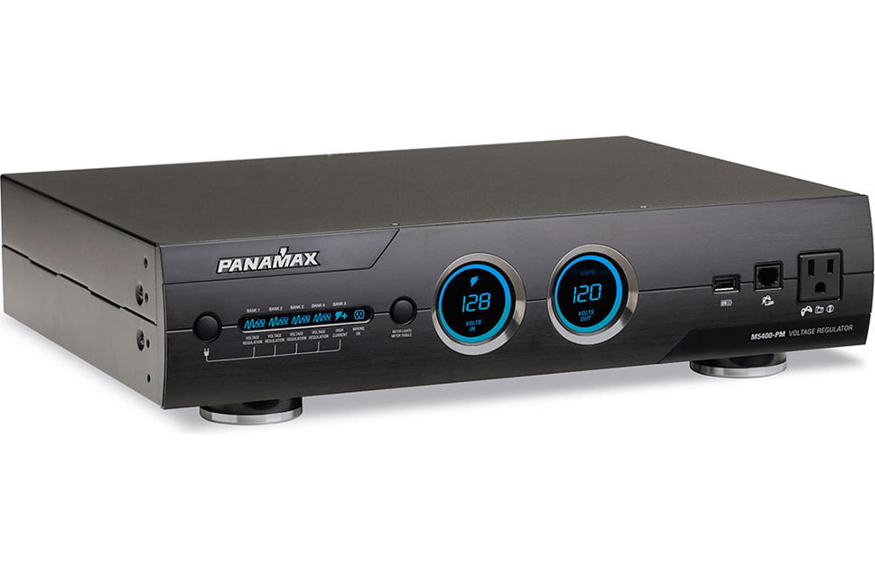 Bank 3 Meter.Panamax M 5400pm 11 Outlet Home Theater Power Conditioner