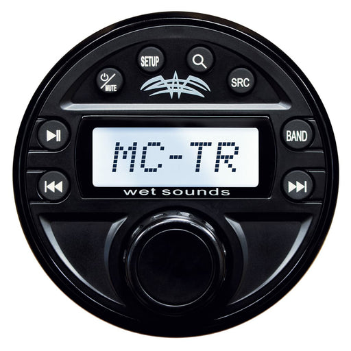 Wet Sounds MC-TR Wet Transom / Auxiliary Remote for MC-1 Media Center - Safe and Sound HQ