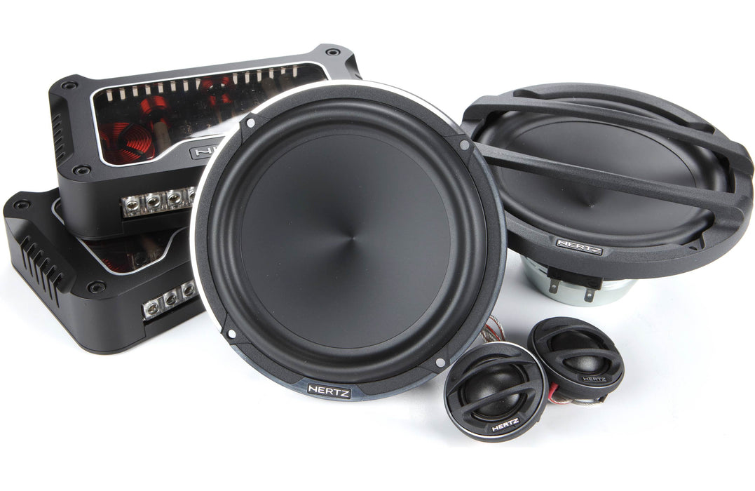 "Hertz MLK 1650.3 Mille Legend 6.5"" Component Speaker (Pair) - Safe and Sound HQ"