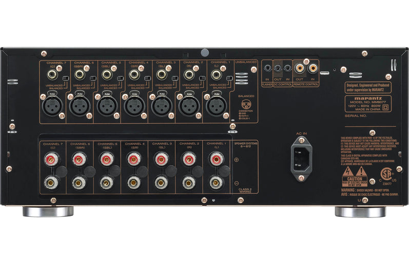 Marantz MM8077 7 Channel Power Amplifier - Safe and Sound HQ