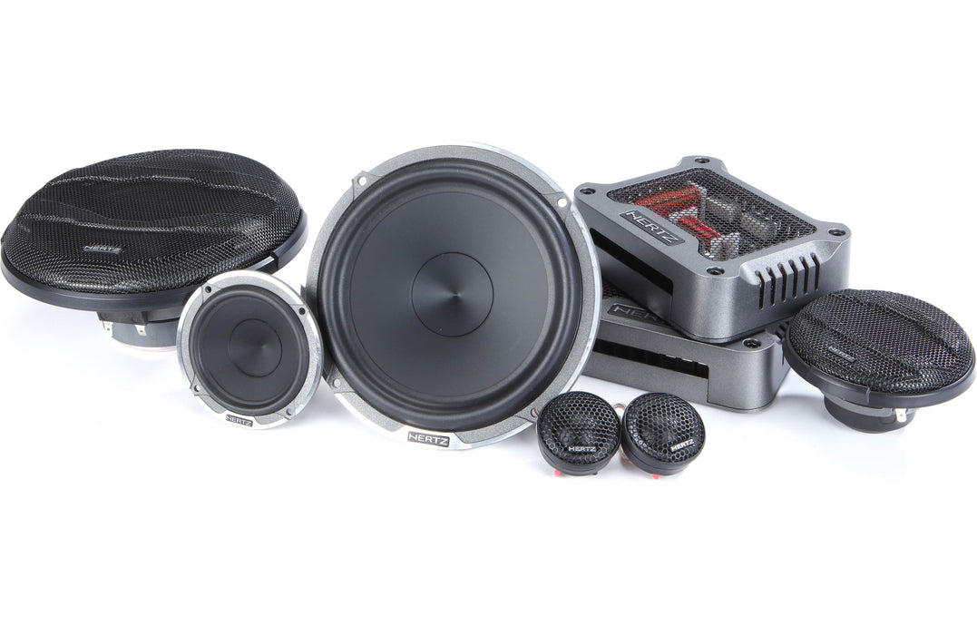 "Hertz MPK 163.3 Mille Pro 6.5"" 3-Way Component Speaker (Pair) - Safe and Sound HQ"