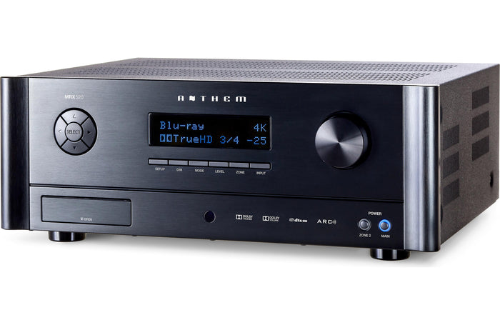 Anthem MRX 520 Performance Collection 5.2 Channel A/V Receiver - Safe and Sound HQ