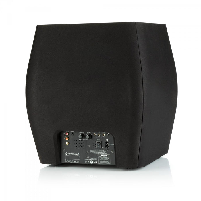 Monitor Audio Mass W200 Powered Subwoofer (Each) - Safe and Sound HQ