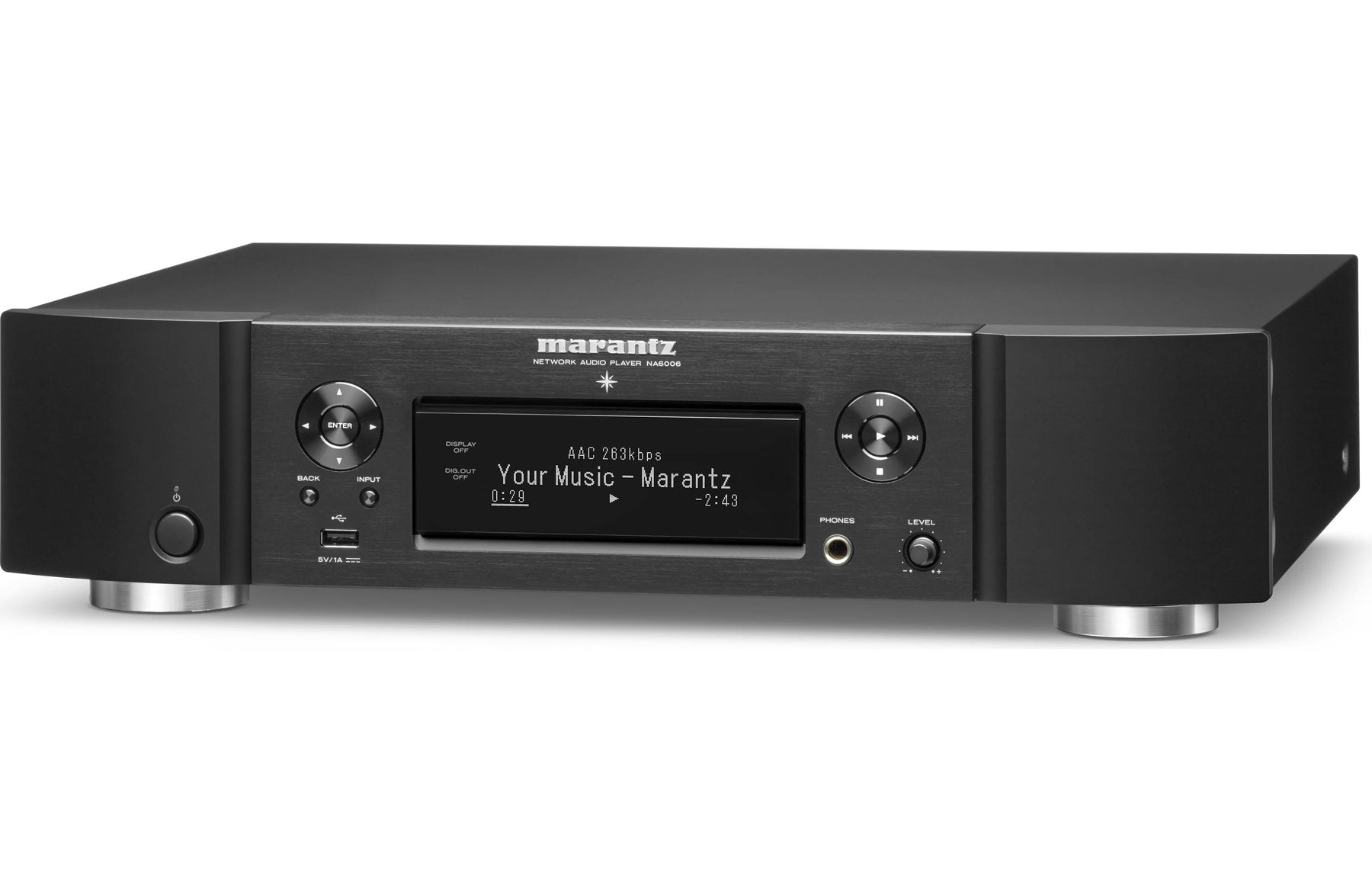 Marantz NA6006 Network music player with Wi-Fi, Bluetooth and Apple AirPlay  2 Open Box