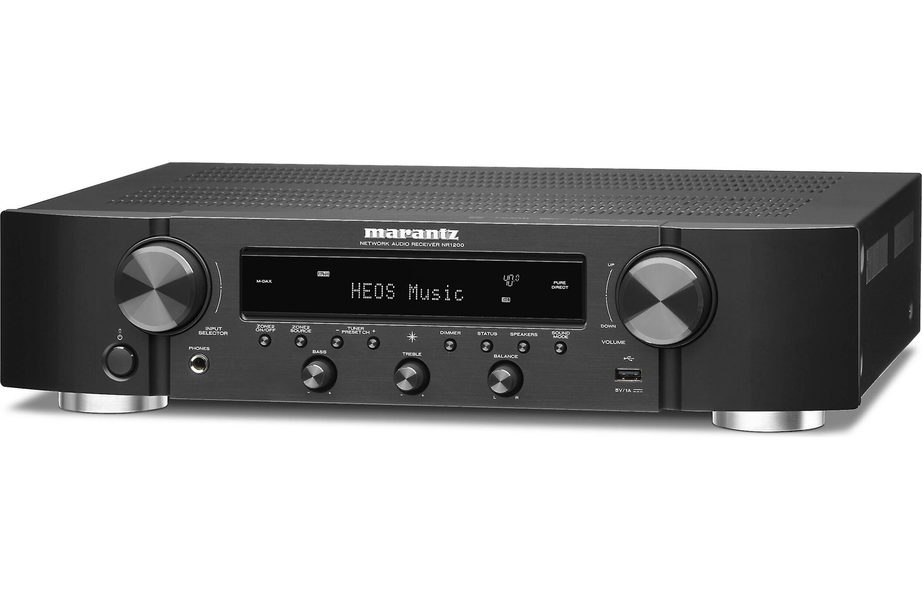 Marantz NR1200 2 Channel Slim Stereo Receiver with HEOS Built-in - Safe and Sound HQ